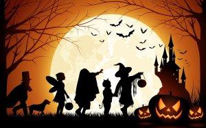 halloween_pumpkin_castle_moon_bats_kids-wide