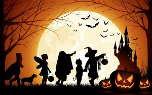 halloween_pumpkin_castle_moon_bats_kids-wide